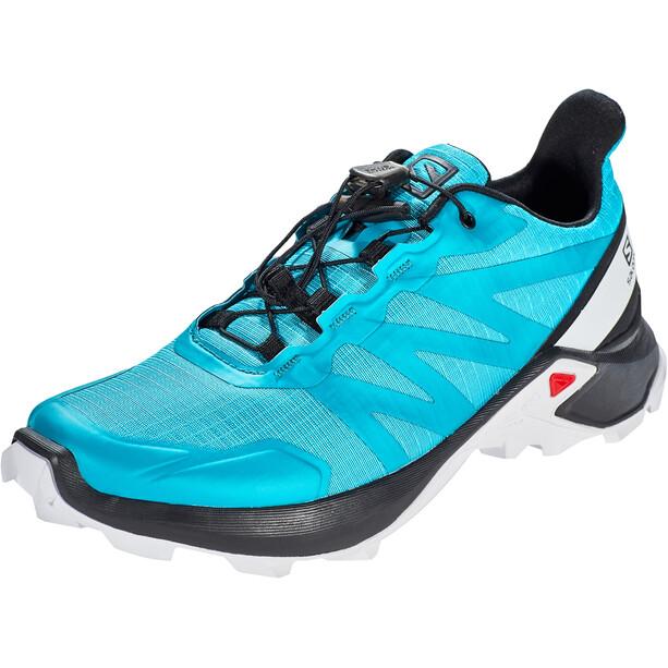 Salomon Supercross Schuhe Damen bluebird black white