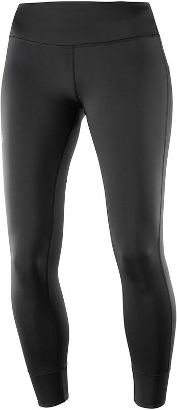 Salomon Comet Tech Leg Pants Women black S 2019 Tights & Löparbyxor