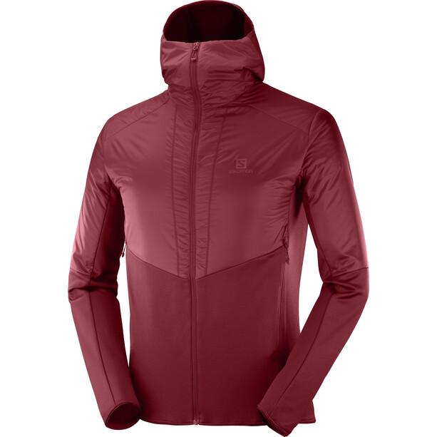 Salomon Outline Warm Jacket Herr Biking Red