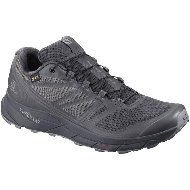 Salomon Sense Ride GTX Nocturne Shoes Herr ebony quiet shade black