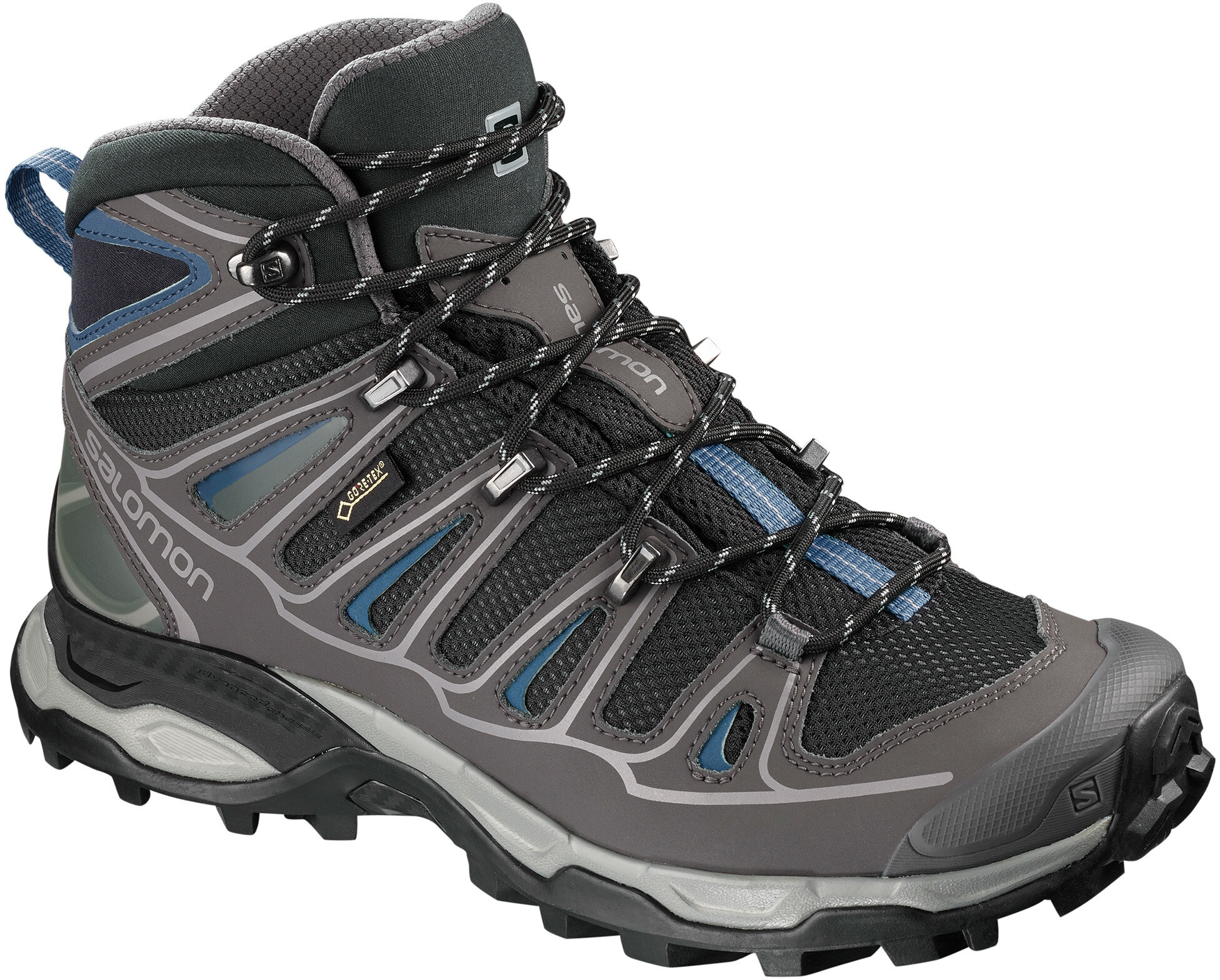 Salomon X Ultra 2 Spikes GTX Mid Shoes Dam BlackMagnetHydro