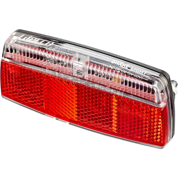 Litecco G-Ray-E1 Rücklicht mit Bremslicht Funktion black/red