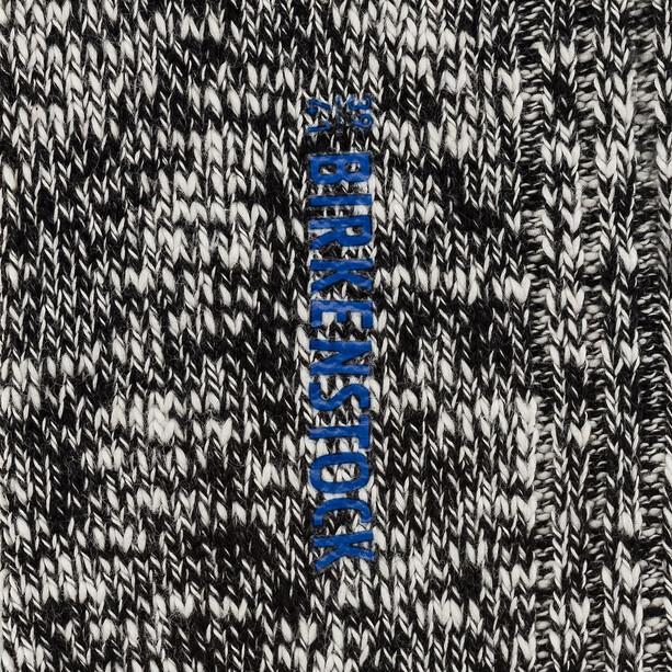 Birkenstock Cotton Slub Socken Damen black gray
