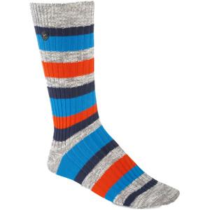 Birkenstock Cotton Slub Stripes Socken Herren gray melange gray melange
