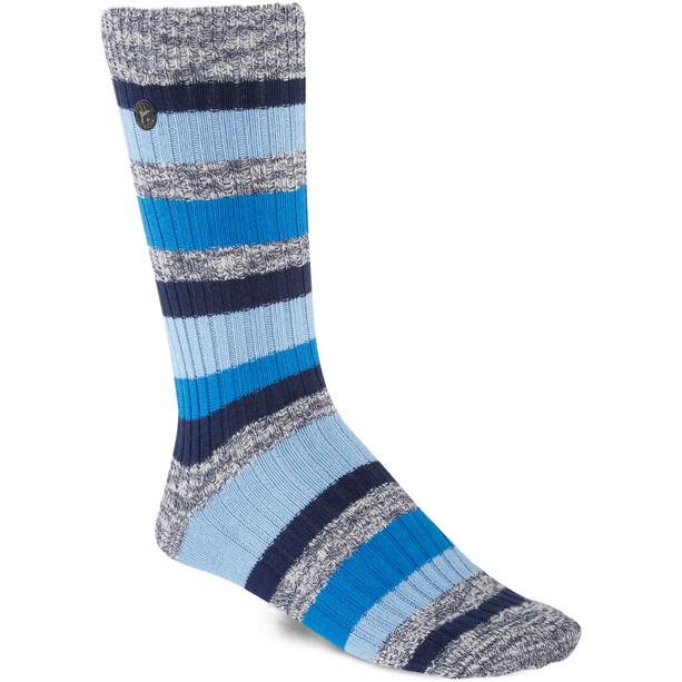 Birkenstock Cotton Slub Stripes Socken Herren jeans melange