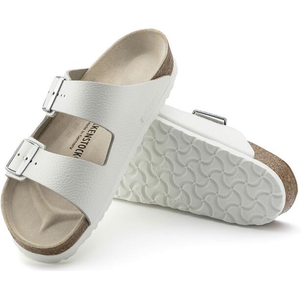 Birkenstock Arizona Sandals Birko-Flor/Patent White