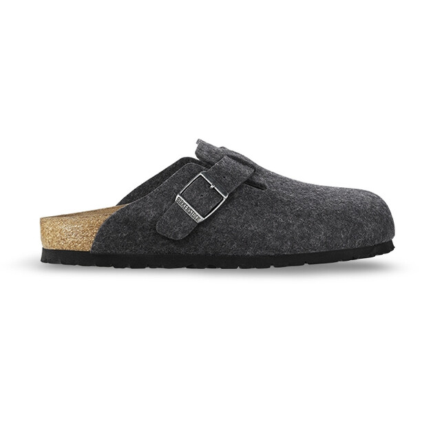 Birkenstock Boston Sandals Wool-Felt Dam Anthracite