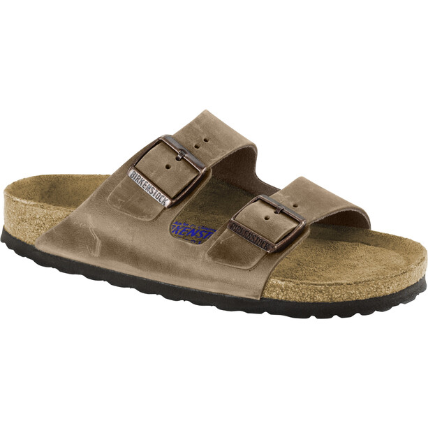 Birkenstock Arizona SFB Sandals Oiled Leather Regular Tabacco Brown