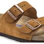 Birkenstock Arizona SFB Sandals Suede Leather Regular brun