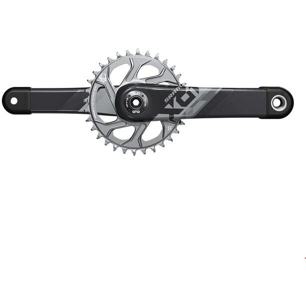 SRAM X01 Eagle DUB Kurbelsatz 12-fach 32Z black/silver