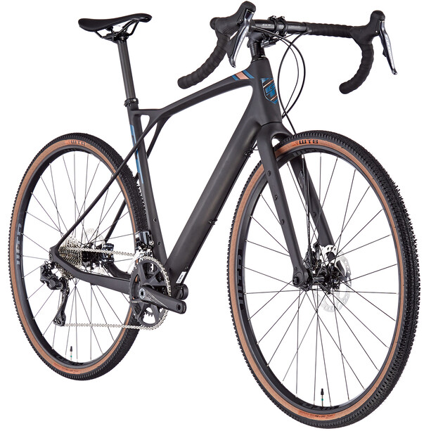 GT Bicycles Grade Carbon Pro Herren satin black/copper/dusty blue