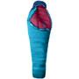 Marmot Fulcrum Plus 15 Sac de couchage Long Femme, bleu