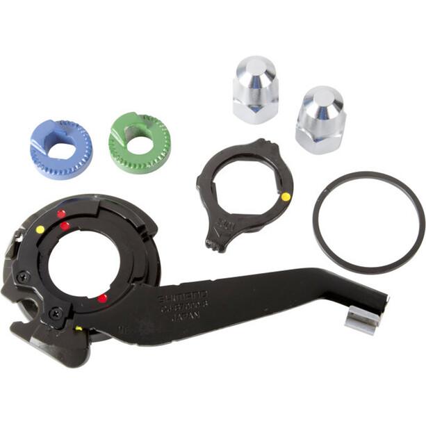 Shimano Alfine Composants de moyeu 8 vitesses SM-S7000-8 Patte de dérailleur verticale, noir