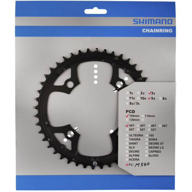 Shimano Deore FC-M540 Chainring 9-speed black