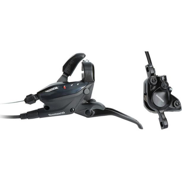 Shimano EF505/MT200 Scheibenbremse Vorderrad black