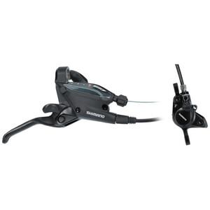 Shimano EF505/MT200 Scheibenbremse Hinterrad 8-fach black black