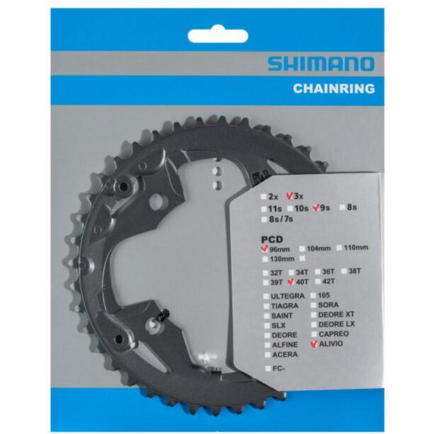 Shimano FC-M4000/M4050 Kettenblatt 9-fach black