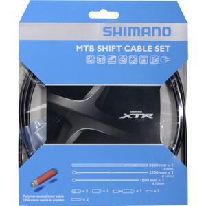Shimano MTB XTR Schaltzugset 2000mm black black