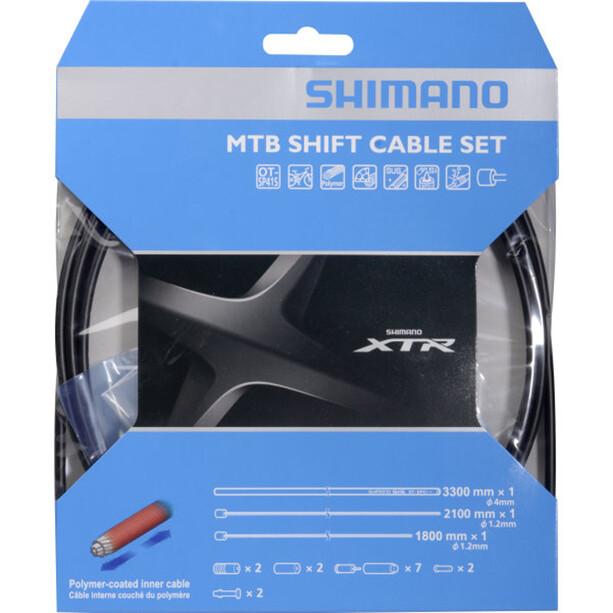 Shimano MTB XTR Schaltzugset 2000mm black
