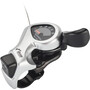 Shimano Tourney SL-TX50 tommelfingerskifter 6-trinns høyre sølv/Svart