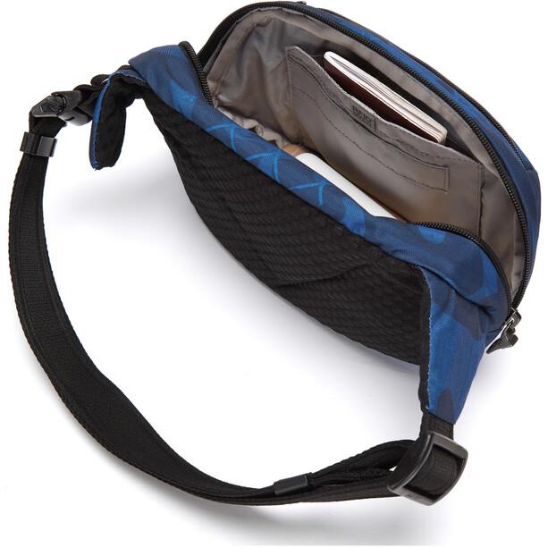 Pacsafe Vibe 100 Hip Pack blå