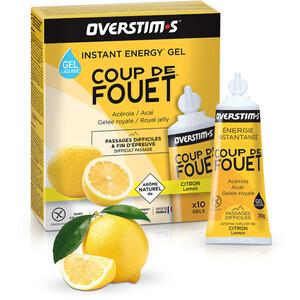 OVERSTIM.s Coup de Fouet Liquid Gel Box 10 x 30g Lemon