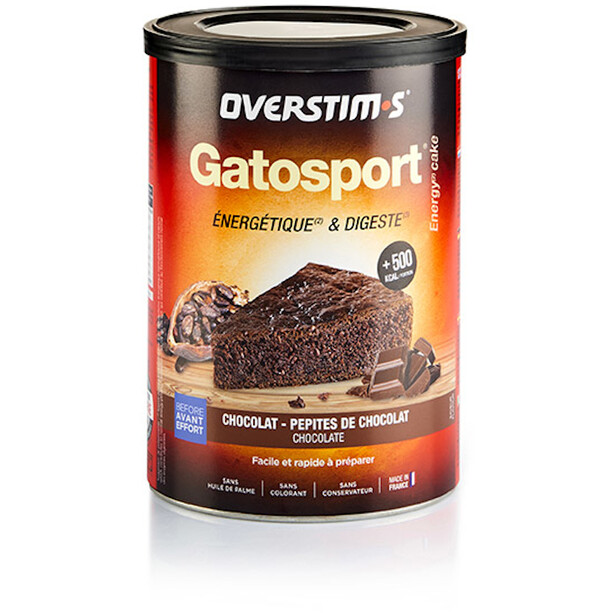 OVERSTIM.s Gatosport Kuchenbackmischung 400g Schokolade
