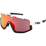 Bliz Fusion M12 Glasses white/black/smoke with red multi