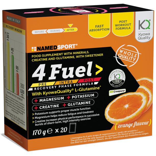 NAMEDSPORT 4Fuel Iso Drink Beutel 20 x 8,5g Orange