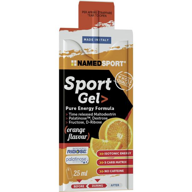 NAMEDSPORT Sport Energy Gel Box 15 x 25ml Orange
