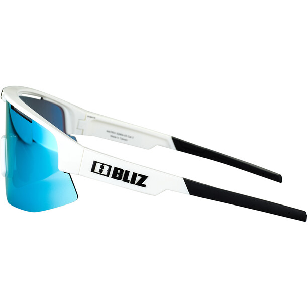 Bliz Matrix M12 Brille weiß/blau