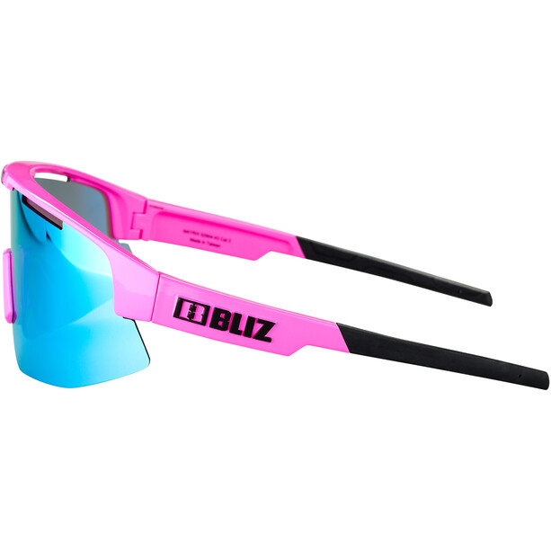 Bliz Matrix M12 Brille shiny pink/brown with blue multi