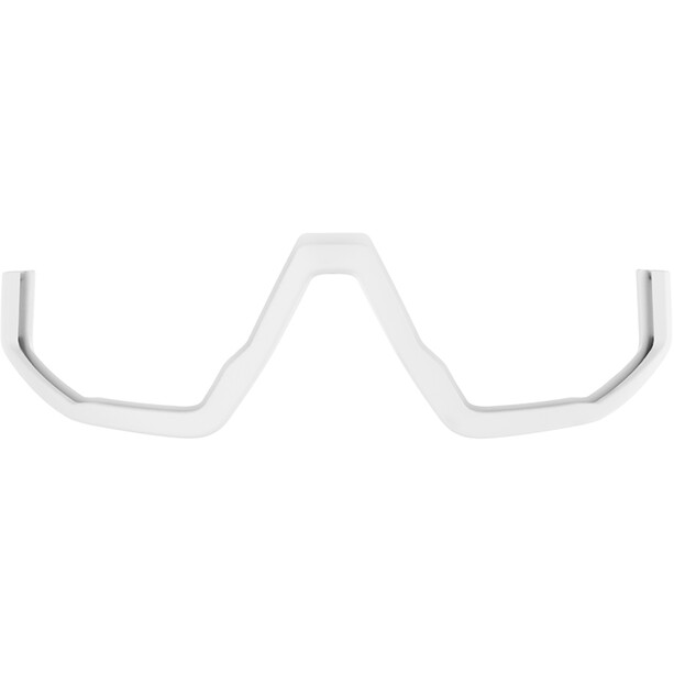 Bliz Fusion M12 Brille matt white/smoke with red multi
