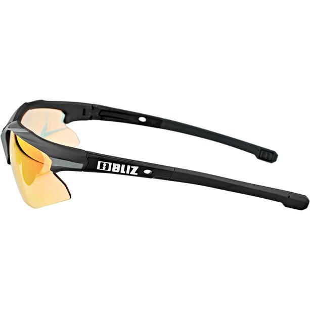 Bliz Hybrid M18 Brille für schmale Gesichter Ultra Lens Science schwarz/rot