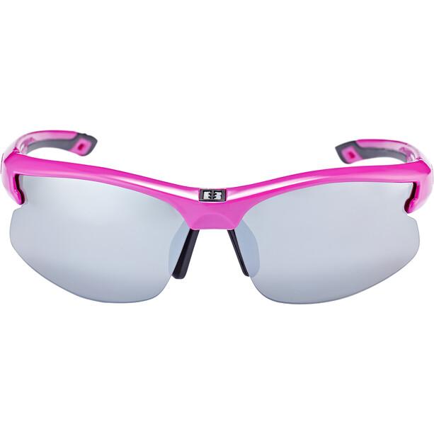 Bliz Motion Brille für schmale Gesichter shiny pink