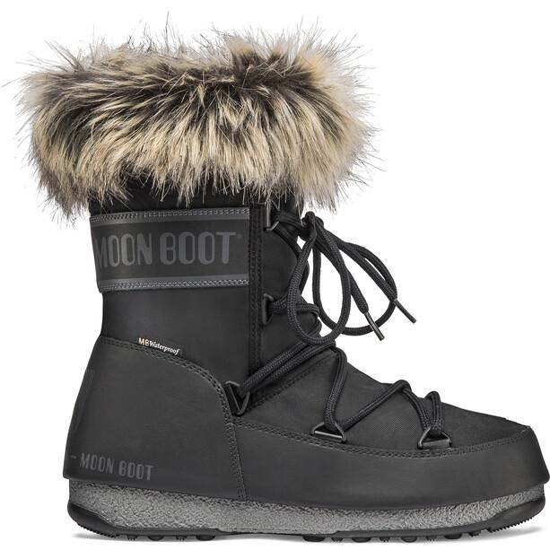 Moon Boot Monaco WP 2 Lyhytvartiset talvikengät Naiset, black