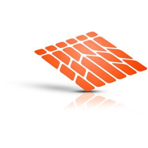 Riesel Design re:flex Reflective Stickers, orange orange