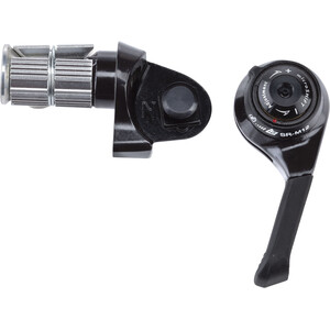 microSHIFT BS-SR-M12 Bar End Shifters SRAM MTB 12-speed compatible ブラック