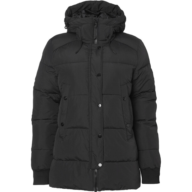 North Bend Puff Jacke Damen black
