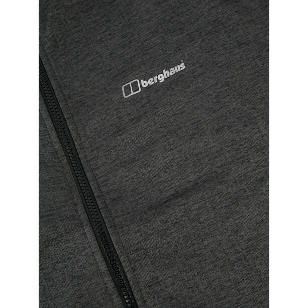 Berghaus Spitzer IA Jacke Herren jet black/grey pinstripe