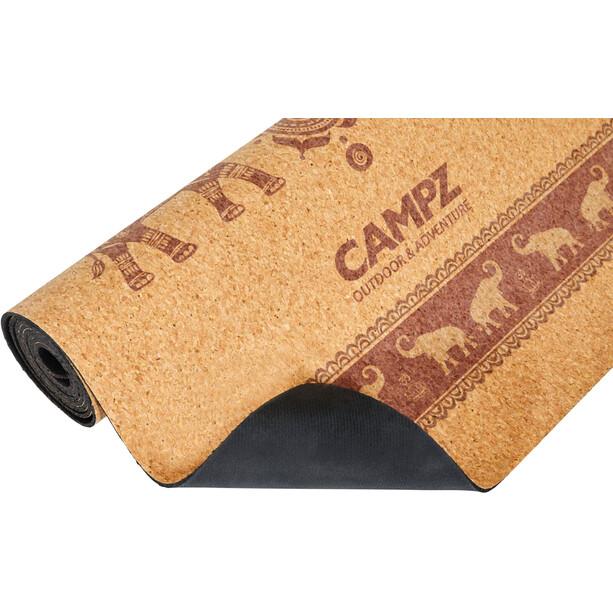 CAMPZ Cork Yoga Matte M Elephant brown