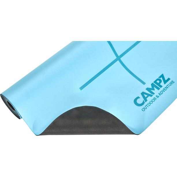 CAMPZ PU Position Line Yoga Matte M blue