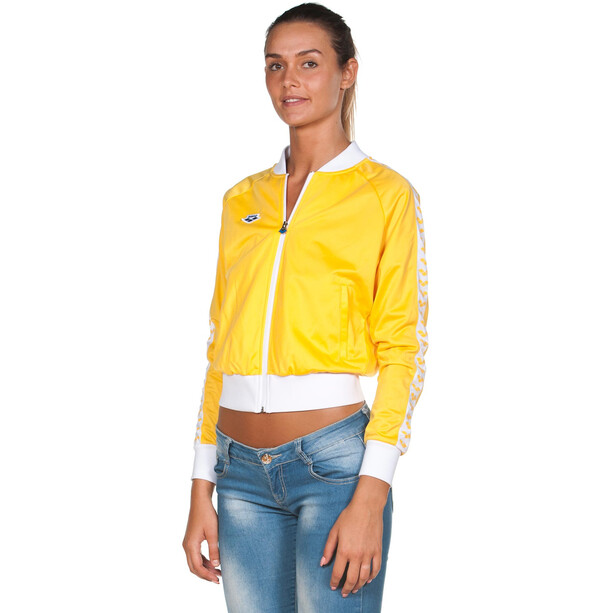 arena Relax IV Team Jacke Damen lily yellow/white/lily yellow