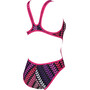 arena Arena One Logo Stripe One Piece Badeanzug Damen multi/freak