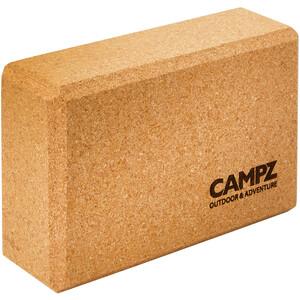 CAMPZ Cork Yoga Block 23 x 15 x 7,5 cm braun braun