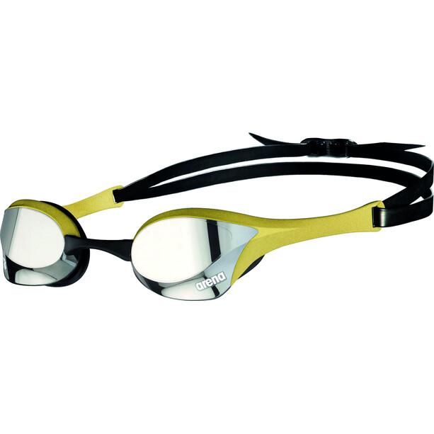 arena Cobra Ultra Swipe Mirror Brille silver/gold