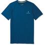 Smartwool Merino Sport 150 Logo Tee Herr Alpine Blue