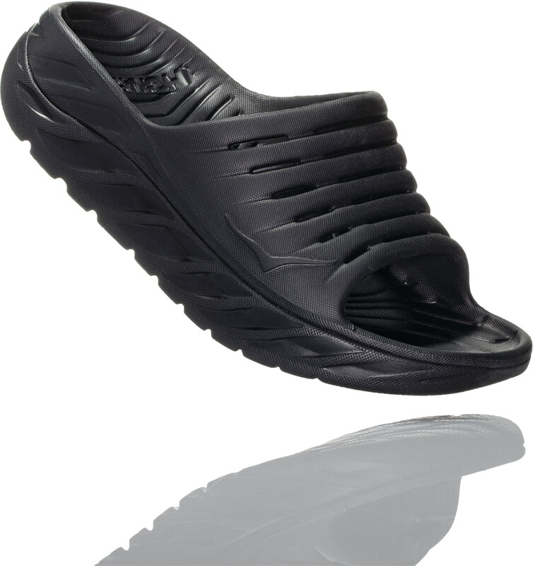 Hoka One One Ora Recovery Slide 2 sandaler Herre Svart US 13   EU 48 2021 Sandaler