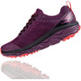 Hoka One One Challenger ATR 5 Running Shoes Dam italian plum/poppy red