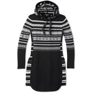 Smartwool Alpine Lodge Pattern Kleid Damen schwarz/weiß schwarz/weiß